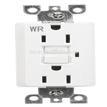 BAS-002WR Household american wall sockets 15A 1LED gfci receptacles