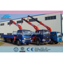 telescopic boom truck mounted crane mobile crane telescope boom crane