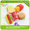 Western Food Eraser Hot Dog en forma de gomas