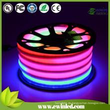 Gelbe LED-Leuchtreklame für bunte PVC-Abdeckung