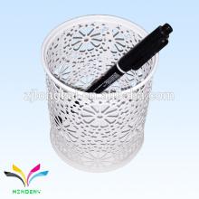 newest design white colorful multi purpose diy bulk pen holder school office