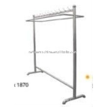 Stainless steel Hanging clothes shelf