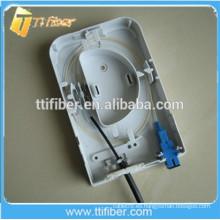 Caja de terminales de 2Port Fiber para montaje en pared