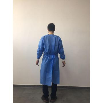 Disposable waterproof isolation gown