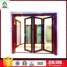 Puertas plegables de acordeón interior de aluminio Puertas plegables de acordeón interior de aluminio