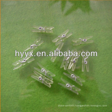 Transparent Plastic Peg