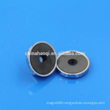 ferrite ceramic pot magnetic mount magnet
