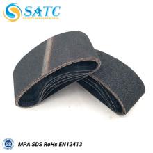 Tamanhos de grãos abrasivos e uso de polimento lixar cinto