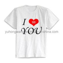 Cheap Cotton Men′s Printed T-Shirt