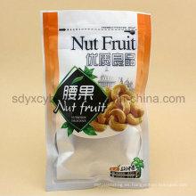 El surtidor de China y SGS aprobó el bolso de bocadillo de la fruta de la cremallera de la empaquetadora plástica