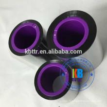 Ruban de résine compatible à la cire noire de type 33 mm * 450m pour Markem