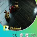Commercial 12.3mm E1 Mirror Walnut Waterproof Laminated Floor
