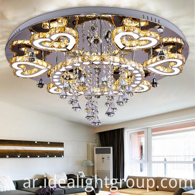 chandelier crystal led lamp