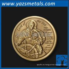 moneda grabada a medida, personaliza la moneda del acontecimiento de la alta calidad,