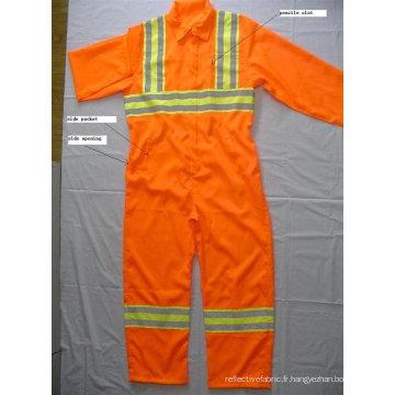 Combinaisons de protection réfléchissante 100% polyester