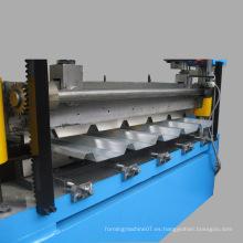Chapa de metal corrugado hoja de laminado de formación de la máquina, rollo de papel corrugado que forma la máquina