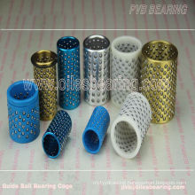plastic pom ball cages guide bearing ball retainer,FZ ball bearing sleeve,misumi ball bearing guide post