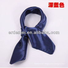 Newly square silk scarf solid color