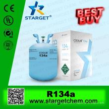 99,9% de refrigerante de gás de pureza r134a