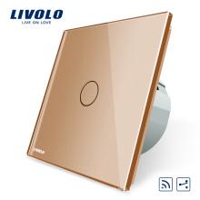 Livolo EU Standard Interrupteur Tactile Murale Tactile 2 Voies Interrupteurs Électriques Sans Fil RF VL-C701SR-13