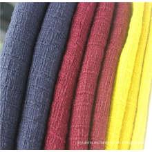 Tejido de tweed 100% algodón para prendas populares