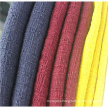 100%cotton tweed fabric for popular garment