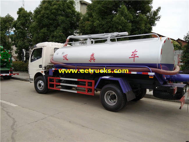 6 Ton Septic Tank Trucks