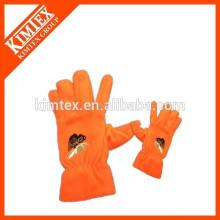 Вышивальные логотипы thinsulate флисовые перчатки
