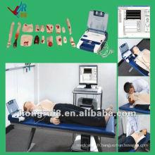 Mannequin de formation à la RCR avancé ISO avec AED et Trauma Care