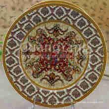 China Goods Wholesale Porcelain Enameled Melamine Dinner Plates