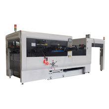 Full automatic flat bed die cutter machine cardboard machine