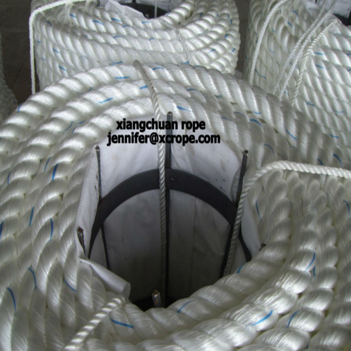 3 strands polyester rope