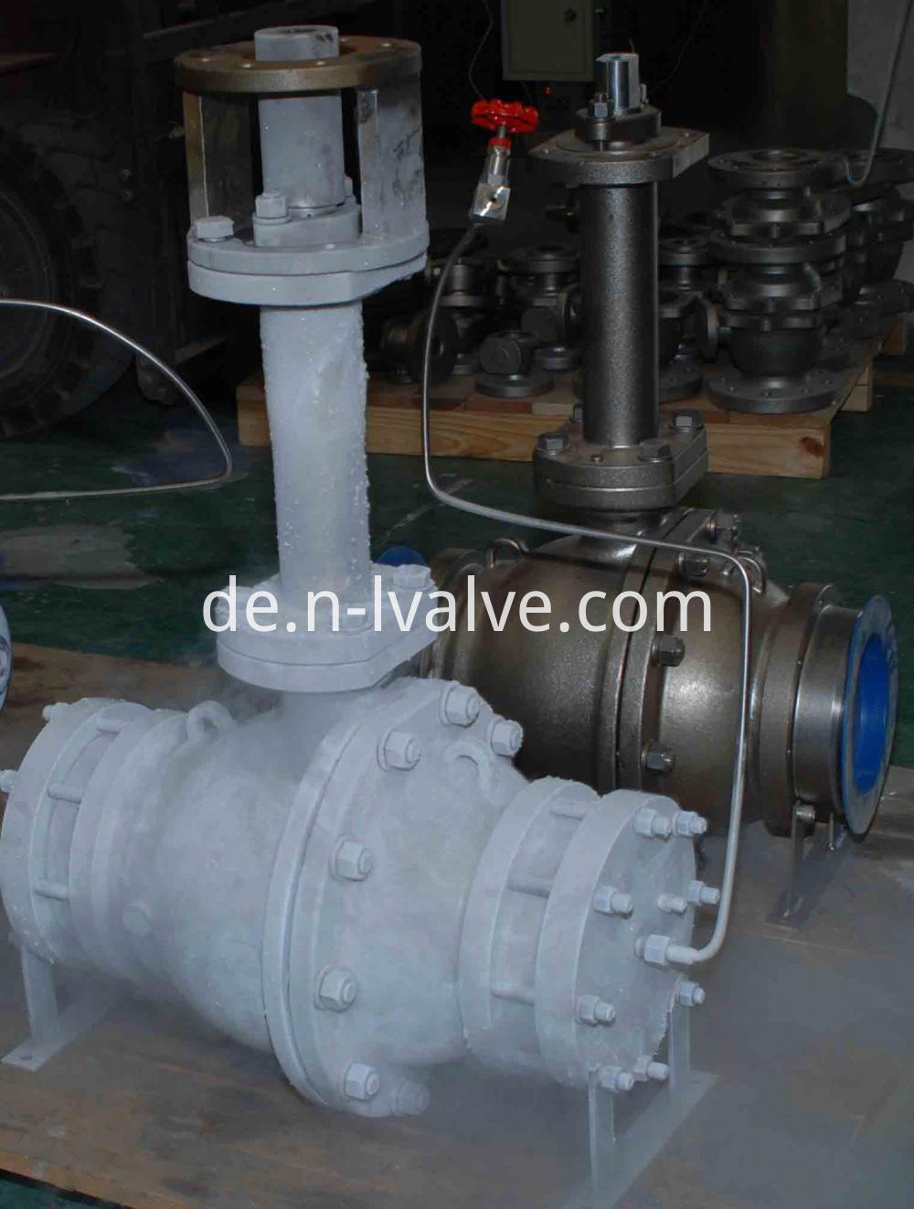 Side Enter Ball Valve After Cryogenic Test
