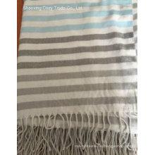 Bunte Streifen-Stil Warm Schal