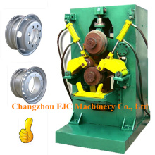 Agricultural Tubeless Wheel Rim Manufacturing Two Rollers Roll Forming Machine