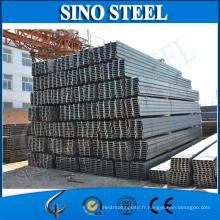 Ss400 Grade et poutres en Heams standard de forme structurelle JIS