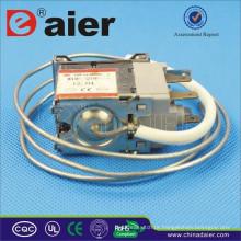 O interruptor dobro da refrigeração KW-2 do controle de temperatura de Pólo 6A 250VAC com ferro roda