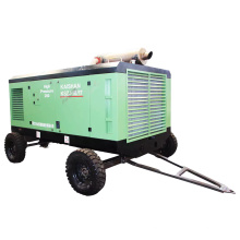 75HP 55kw 300CFM 10bar Portable Screw Air Compressor