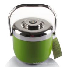 Boîte à lunch Steeel en acier inoxydable de 1,8 L