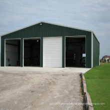 Prefabricated Steel Structure Building for Garage and Warehouse