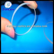 Fenêtres en verre rondes optiques avec revêtement