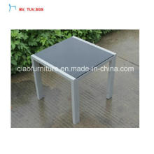 C-Modern Design Outdoor Furniture Coffee Table with Exposed Tube