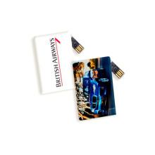 Forma de tarjeta de crédito personalizada Forma USB Flash Drive