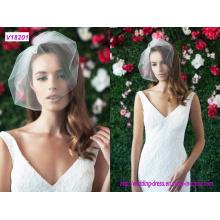 Braut Hochzeit Schleier Kurz Stil Brautschleier