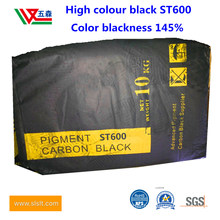 High-Color Carbon Black St600, Oil Absorption Value 60, Color 145% for Water-Based Inkmasterbatches, Leather and Plastics