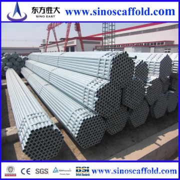 ERW Welded Scaffolding Pipe with Scaffolding Coupler for Construction