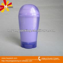 Contenedor de plástico desodorante de 50 ml PP