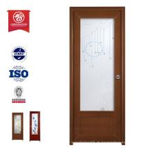 Exterior Impermeável Boa Qualidade Madeira Plástico Porta compósita Porta WPC