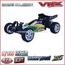 VRX Racing Brand 1/10 brushed electric powered buggy, 2WD RC toy cars