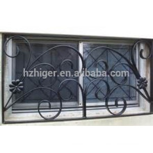 design de grelha de janela de ferro